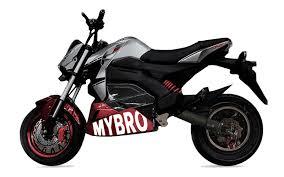 Электромотоциклы Mybro – будущее автопрома