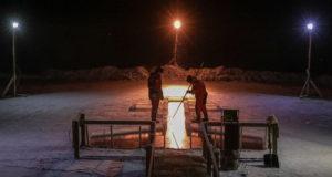 В Подмосковье подготовили около 220 мест для крещенских купаний