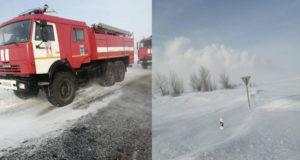 Пожар начался на газопроводе в Оренбургской области после взрыва