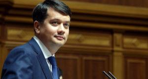 Спикер рады отказался поддержать введение санкций против украинских телеканалов
