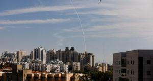 Появилось видео последствий обстрела израильского города Ашкелон