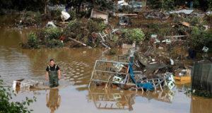 Число погибших при наводнении в Германии возросло до 58