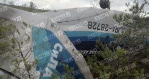 Два человека госпитализированы после аварийной посадки Ан-28 под Томском