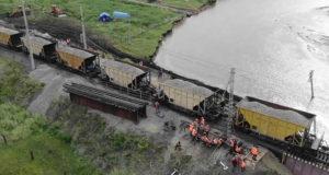 В Забайкалье после паводков открыли движение поездов по Транссибу