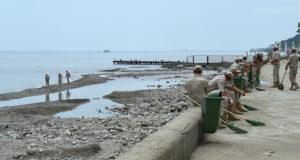 Власти назвали сроки восстановления пляжей после подтоплений на Кубани