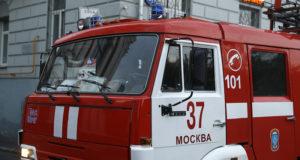 Пожарные спасли шесть человек из пожара в Москве