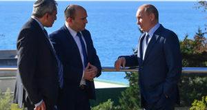 Путин и Беннет обсудили будущие отношения Израиля и РФ